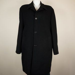 Saks Fifth Avenue Men's Coat Cashmere Wool Blend
